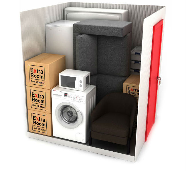 35 square foot self storage example