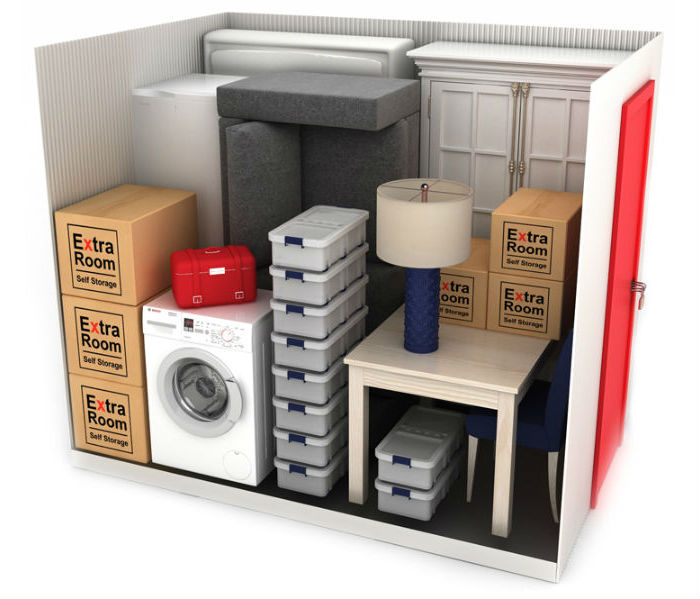 50 square foot self storage example