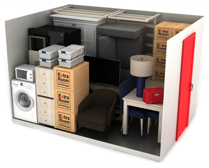 75 square foot self storage example