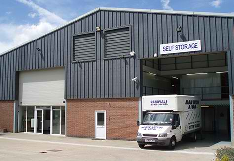 Nuneaton Self Storage Building