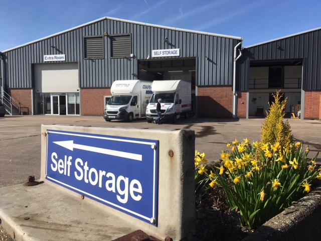 Extra Room Self Storage Nuneaton in the Spring